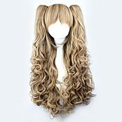 Lolita Wigs Yellow / Blonde Cosplay Curly...