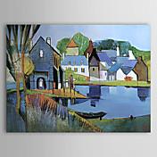 Oil Painting Hand Painted - Landscape Mod...
