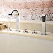 Bathtub Faucet - Contemporary Chrome Roma...