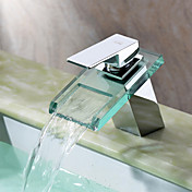 Contemporary with Chrome Single Handle ...