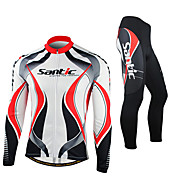 SANTIC Cycling Jersey with Tights Men's L...