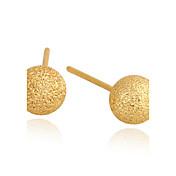 Mujeres Xinxin oro 18K pendientes del Zircon ERZ0421