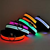 Cat Dog Collar LED Lights Adjustable / Re...