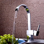 Kitchen faucet - Contemporary Chrome Tall...