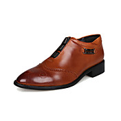 Men's Shoes Leather Spring / Fall Comfort...