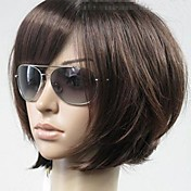 Synthetic Wig Bob Haircut / With Bangs Sy...