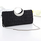 Women's Bags Silk Evening Bag Crystal / R...