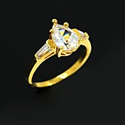 aleación de oro par de anillos de boda anillos de las mujeres PROMIS para parejas