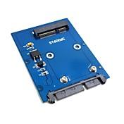 "slim typ mini pci-e mSATA SSD till 2,5 ""s..."