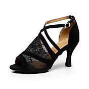 Women's Latin Shoes / Ballroom Shoes Lace...