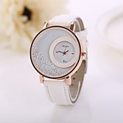 Dam Quartz Diamant Imitation PU Band Ramt...