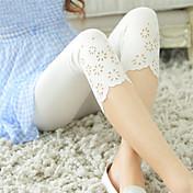 Women's Shredded Legging - Hole, Solid Co...