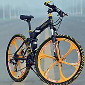 Folding Bike Mountain Bike Cycling 27 Spe...