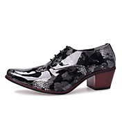 Men's Shoes Leather Spring Fall Novelty O...
