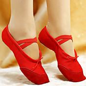 Zapatos de baile (Negro/Rosado/Rojo/Blanco) - Ballet - No Personalizable - Tacón plano