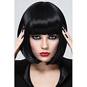 Synthetic Wig Straight Bob Haircut / With...