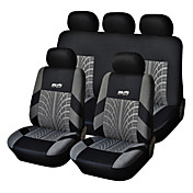5 Seats Universal Car Seat Cover Black/Gr...