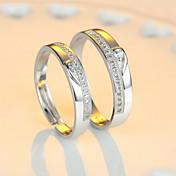 Par Parringar Eternity Ring - Sterlingsil...