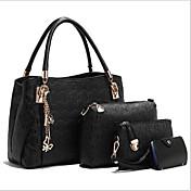 Women's Bags PU Tote Bag Set 3 Pcs Purse ...