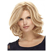 Synthetic Wig Curly Bob Haircut / With Ba...