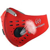 フェイスマスク バイク 高通気性 防風 防塵 バクテリア対応 男女兼用 レッド グレー ブラック ブルー オレンジ ナイロン