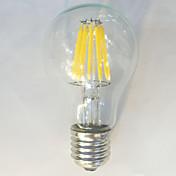 1st 12W 1050 lm E26/E27 LED-glödlampor A6...