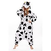 Adults' Kigurumi Pajamas Milk Cow Onesie ...