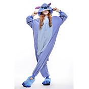 Adults' Kigurumi Pajamas Monster / Blue M...
