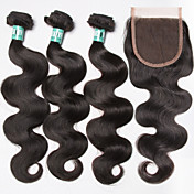 Brazilian Hair Body Wave Hair Weft with C...