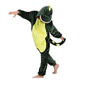 Kid's Kigurumi Pajamas Dinosaur Onesie Pa...