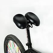 ACACIA 自転車サドル マウンテンバイク ロードバイク 固定ギア レクリエーションサイクリング 女性 サイクリング/バイク ABS 鋼 快適 ソフト 厚型 ブラック