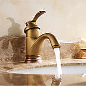 Bathroom Sink Faucet - Waterfall Antique ...