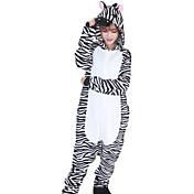 Adults' Kigurumi Pajamas Zebra Onesie Paj...
