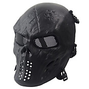 Black Tactical Protective Mask Skull Mask...