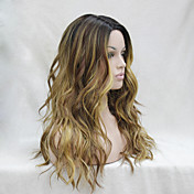 Synthetic Wig Wavy Layered Haircut Heat R...