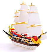Kit de Bricolaje Bloques de Construcción Para regalo Bloques de Construcción Barco Juguetes