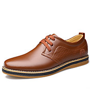 Men's Formal Shoes Cowhide Spring Casual ...