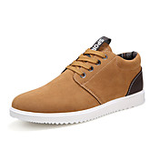 Men's Shoes PU Spring Fall Vulcanized Sho...