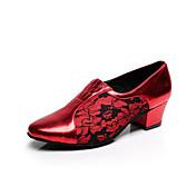 Women's Latin Shoes / Salsa Shoes Flockin...