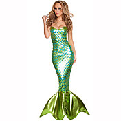 Mermaid Tail Women's Christmas Halloween ...