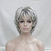 Synthetic Wig Wavy Layered Haircut Pixie ...