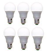 6pcs 1200lm E26 / E27 LED Globe Bulbs A60...