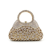 Women's Bags Metal Evening Bag Crystal / ...