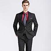 Men's Street chic Plus Size Suits - Solid...