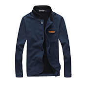 Men's Jacket - Solid Colored Stand