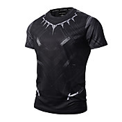 Men's Sports Active / Punk & Gothic Cotto...