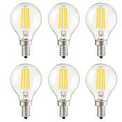 KWB 6pcs 3W 400lm E14 E26 / E27 E12 LED F...