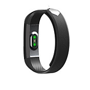 ID115 Pulsera Smart iOS Android Resistente al Agua Calorías Quemadas Podómetros Deportes Atención de Salud Pantalla táctil Información