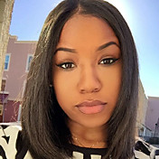 Human Hair Full Lace Wig Straight 130% De...