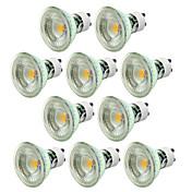 10pcs 5W 550-650lm GU10 LED Spotlight 1 L...